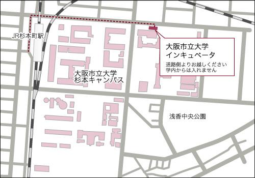 incubator map
